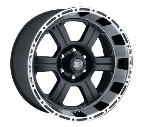 pro comp wheels and tires 7289 6873 pro comp series 7289 1 piece cast blast alloy wheel with