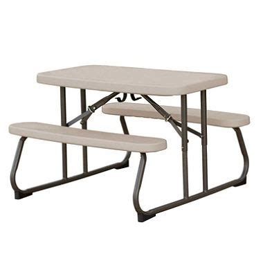 lifetime 32 5 quot folding picnic table putty sam s club