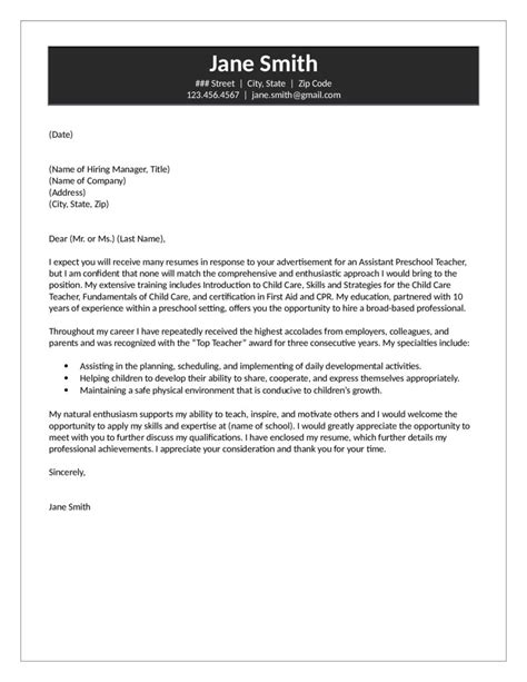 Assistant Preschool Teacher Cover Letter. Sample Letter Of Intent To Purchase Template. Opening Objective For Resume. How To Write An Objective In A Resume. Reference List For Employment Template. Notice To Terminate A Lodger Agreement Template Wucdz. Free Budget Worksheet Dave Ramsey. Resume Templates For First Job Template. Party Invitation Maker Online Free Template