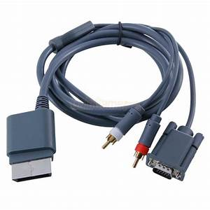 High Definition Hdtv Av Hd Vga Cable For Xbox 360 Us