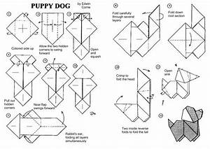 Origami Puppy Dog Instructions  Edwin Corrie