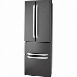 Hotpoint Ffu4d Sb Fridge Freezer - Gun Metal