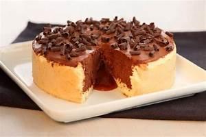 Recette Charlotte Poire Chocolat : recette de charlotte au chocolat coeur coulant au caramel ~ Melissatoandfro.com Idées de Décoration