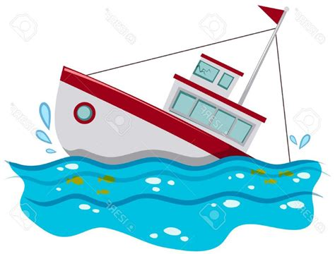 Sinking Boat Vector by Sinking Boat Clipart Free Ship Royalty Vector Clip