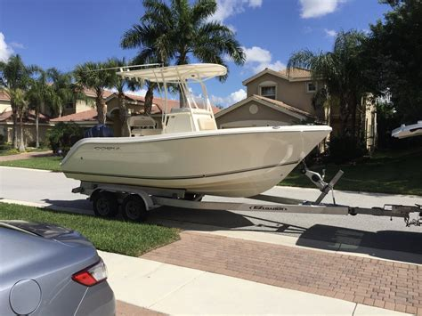 Cobia Boat Dealership by 2015 Cobia 201 Warranty Til 5 2020 Price Drop The Hull