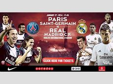 Tickets now on sale for Real Madrid, PSG match in Doha