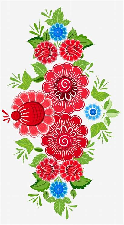 Mexican Flower Flowers Floral Clipart Pattern Flores