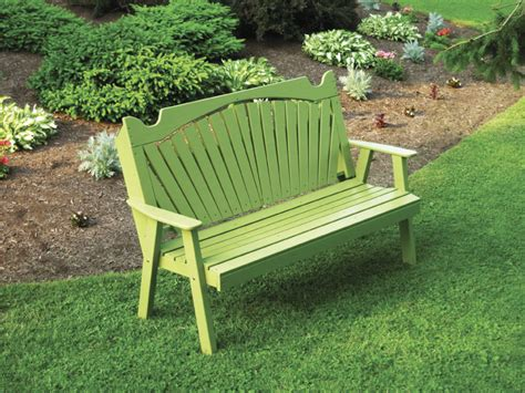 amish furniture handcrafted garden bench