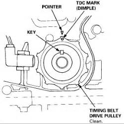 Serpentine Belt Diagram 95 Acura Integra by 95 Acura Tl 2 5 Timing Belt Alinement