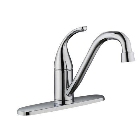 glacier bay kitchen faucet reviews glacier bay builders single handle standard kitchen faucet