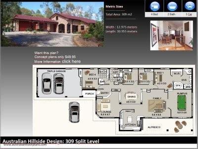 House Plans With Garage Underneath Australia