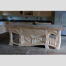 Quirky Kitchens, Sculptural Kitchens, Handmade Kitchens