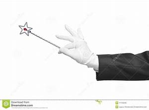 Holding A Magic Wand Stock Photo - Image: 11753240