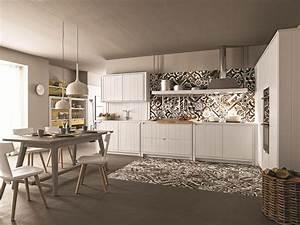 Cucina lineare in abete gesso maestrale 04 by scandola mobili for Scandola mobili prezzi
