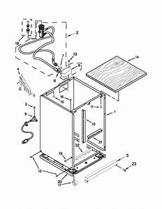 Cabinet Parts Diagram  U0026 Parts List For Model Wdp350paab3