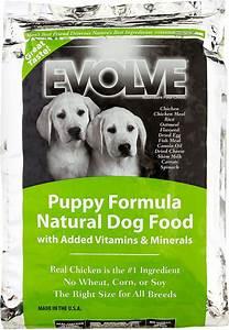 evolve puppy formula dry dog food 28 lb bag chewycom With evolve dog food