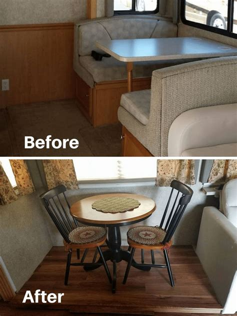 rv owners  replaced  dining booth dining booth