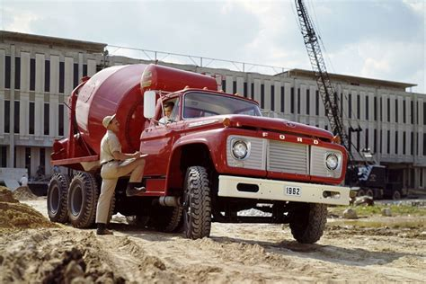 Ford F 850 by A 1962 Ford F 850 With Concrete Mixer History Of Ford