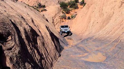 jeep tj  hells gate moab youtube