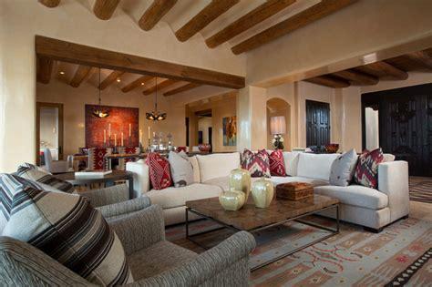 contemporary rustic home  santa fe southwestern