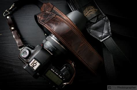 review heavy leather classic camera strap