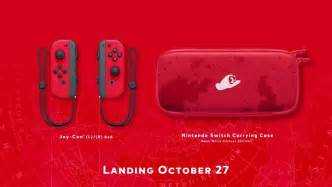 Super Mario Odyssey Gets A Nintendo Switch Bundle With Red ...