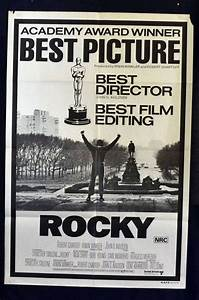 All About Movies - Rocky Movie Poster Original One Sheet ...