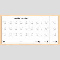 2 Digit Number Addition Worksheets  Addition Worksheets, Addition, Adding, 2