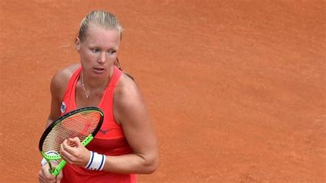 She is actualy 39th of the wta rankings singles. WTA NURNBERG - Bertens to play against the qualifier Krejcikova in final