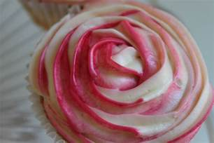 Cupcake with Frosting Roses