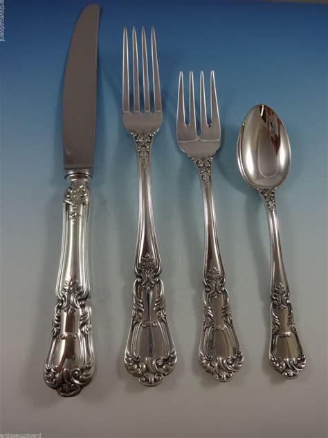 sterling silver flatware italy fina venezia pieces service mobile