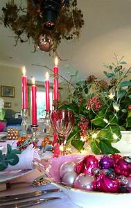 How, To, Revive, Your, Christmas, Table, Decorations, With, Pink
