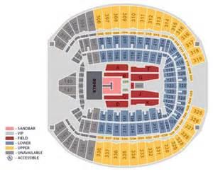 Kenny Chesney CenturyLink Field Seating Chart