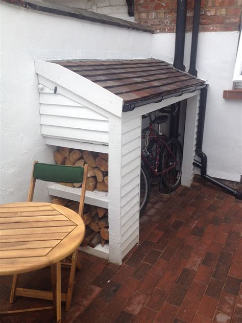 compact bike storage shed compact bike shed small garden yard the front opens up to