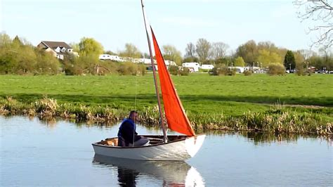 Sailing Boat Jib by Mirror Sailing Dinghy Jib Only Youtube
