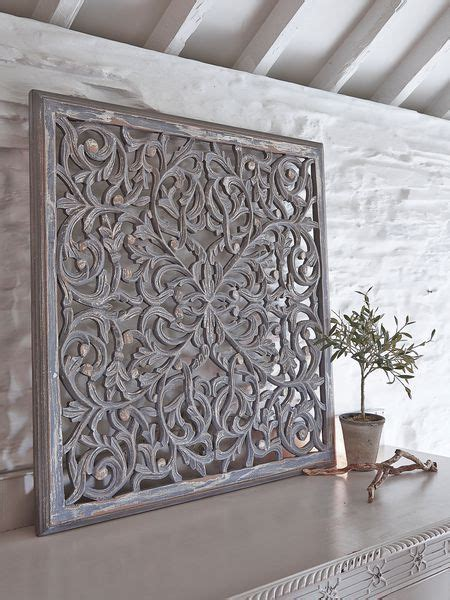 Shop wall wood panels and planks at floor & decor. Large Carved Wall Panel - Design 1 GL | Carved wood wall art, Wooden wall panels, Wood wall art ...
