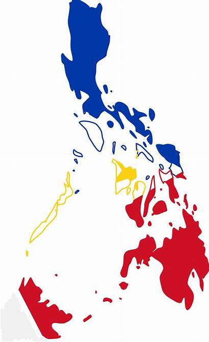 Philippine Philippines Flag Map Clipart Vector Svg