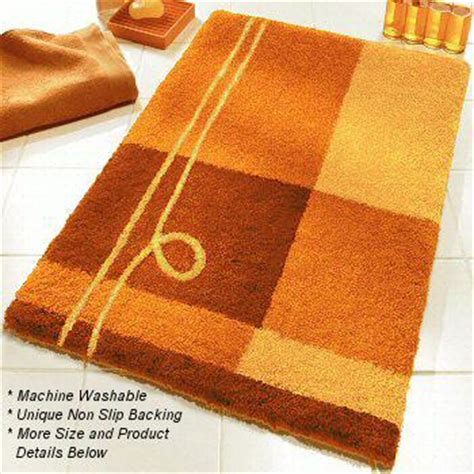 contemporary bright colored bath rugs  extra large sizes