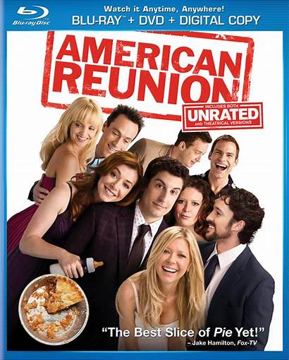 American Reunion Blu Ray Dvd Pie Unrated