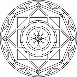 Free coloring pages of chakra