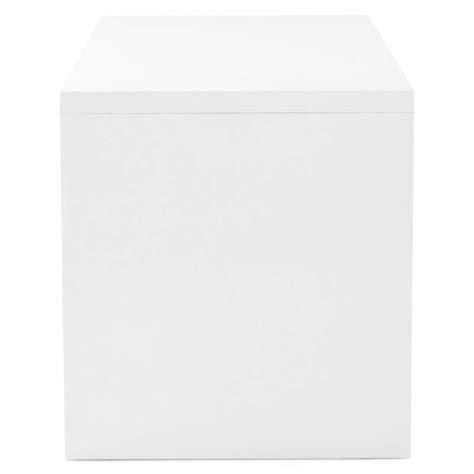 bureau navigo bureau droit design navigo en bois blanc laqué