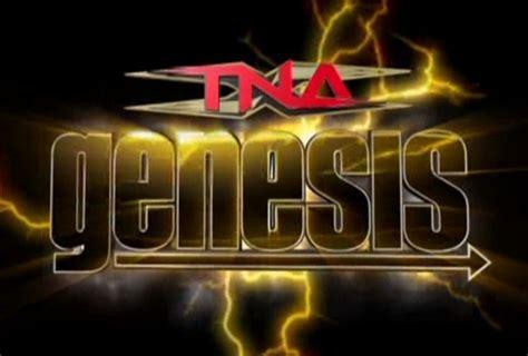 tna genesis predictions  title matches anglestorm