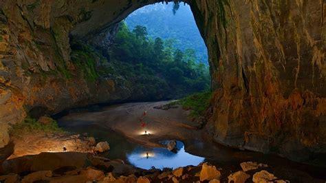 Fond d'écran : paysage, la nature, réflexion, la grotte ...