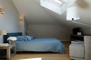 resultat de recherche d39images pour quotdeco chambre With chambre parentale sous comble