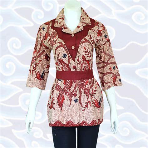 batik atasan bolero model baju batik wanita modern terkini baju batik