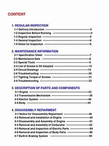 Tgb Service Manual - 101s  Bh1  - 303r-50  Br1