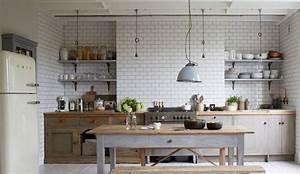 Cuisine Ancienne Campagne : d co cuisine campagne 12 id es au top c t maison ~ Nature-et-papiers.com Idées de Décoration