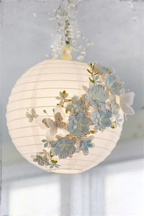 chambre 2 gar輟ns tuto luminaire boule fleurie