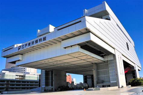 tokyo architecture edo tokyo museum