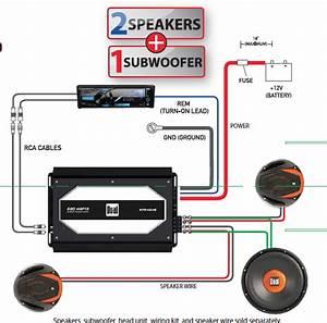 Sony 600w Amp Wiring Diagram